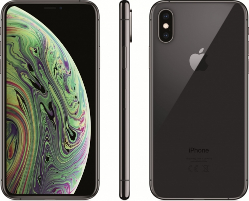 Смартфон Apple iPhone XS 256GB (серый космос) xs-256b