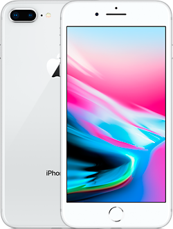 Apple iPhone 8 Plus 256GB (серебристый)