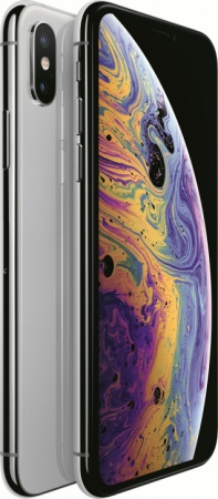 Смартфон Apple iPhone XS 256GB (серебристый) xs-256w