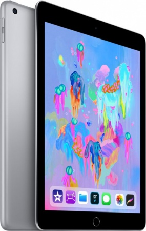 Планшет Apple iPad 9.7'' (2018) 128 Gb Wi-Fi [MR7J2] space gray (серый космос)
