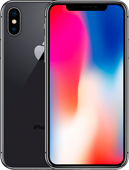 Apple iPhone X 64GB (серый космос)