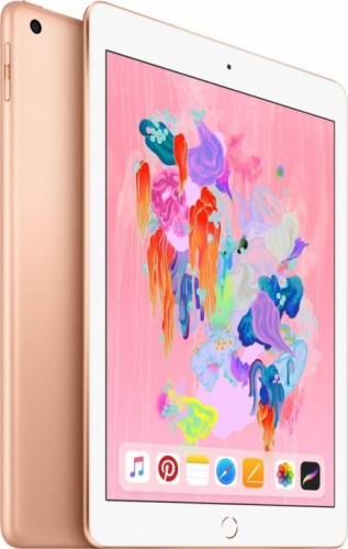 Планшет Apple iPad 9.7'' (2018) 128 Gb Wi-Fi+Cellular [MRM22] gold (золотистый)